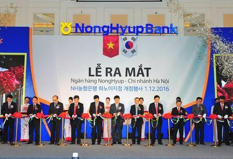 Ngan hang Nonghyup mo chi nhanh Ha Noi - Anh 1