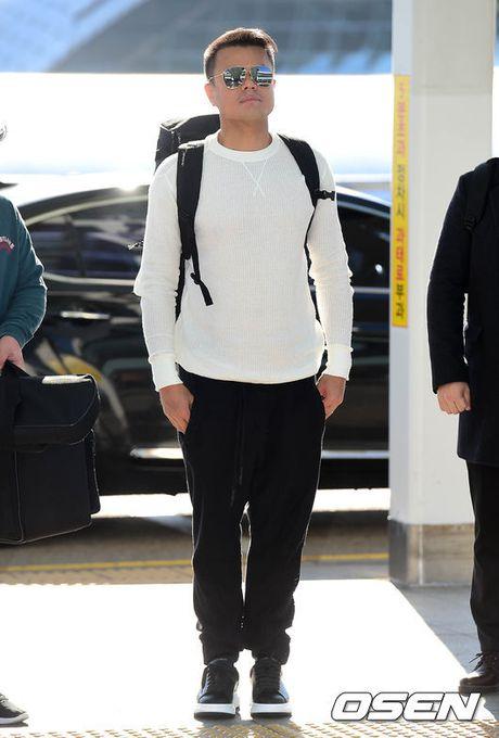 Lee Min Jung xuat hien cung chong tai Hong Kong - Anh 11