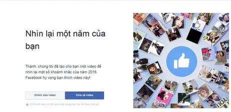 Cung Facebook nhin lai nam 2016 cua ban - Year inreview 2016 - Anh 1