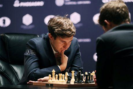 Magnus Carlsen 3 lan lien tiep vo dich co vua the gioi - Anh 2