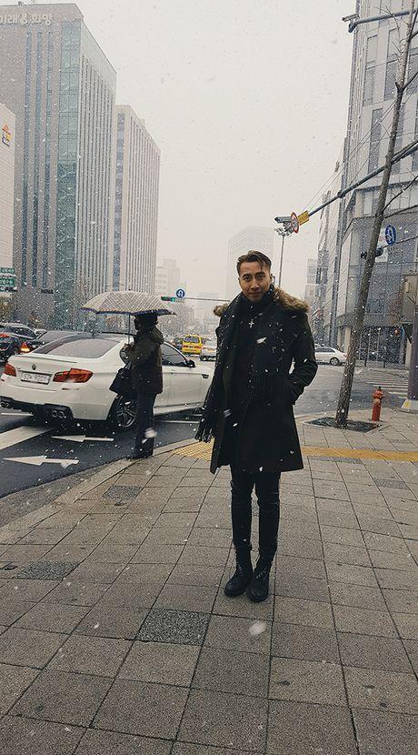 Only C va Lou Hoang vinh du duoc dai KBS Han Quoc moi phong van - Anh 6