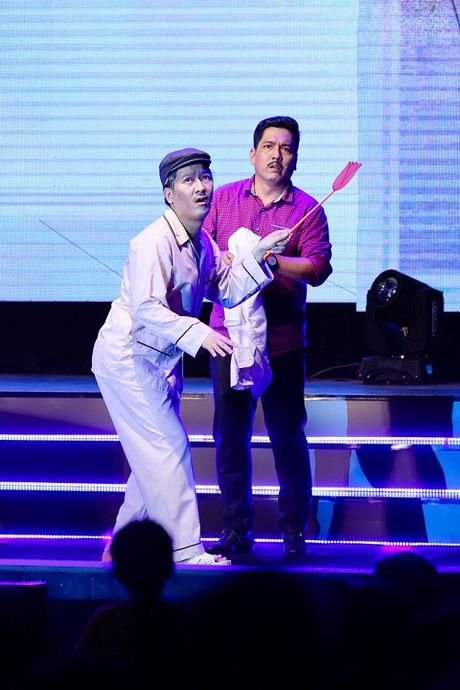 Bat chap mua bao, Nha Phuong van den ho tro liveshow cua Truong Giang - Anh 6