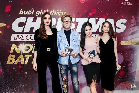 Ha Ho long lay, Huong Tram 'e ap' trong hop bao liveshow Bui Anh Tuan - Anh 13