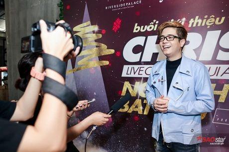 Ha Ho long lay, Huong Tram 'e ap' trong hop bao liveshow Bui Anh Tuan - Anh 1