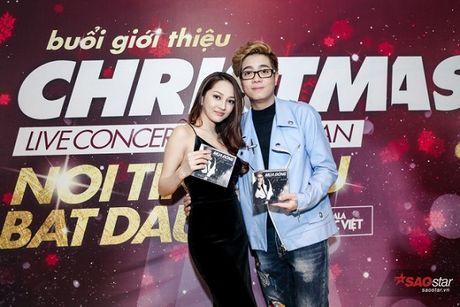 Ha Ho long lay, Huong Tram 'e ap' trong hop bao liveshow Bui Anh Tuan - Anh 5