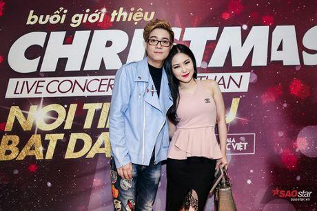 Ha Ho long lay, Huong Tram 'e ap' trong hop bao liveshow Bui Anh Tuan - Anh 6