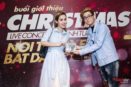 Ha Ho long lay, Huong Tram 'e ap' trong hop bao liveshow Bui Anh Tuan - Anh 7