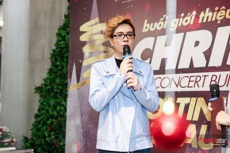Ha Ho long lay, Huong Tram 'e ap' trong hop bao liveshow Bui Anh Tuan - Anh 9