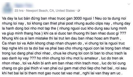 Ha Tran bi to da hat sai loi lai do loi ban nhac danh nham bai - Anh 3