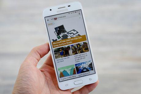 Galaxy J5 Prime - smartphone re nhat cua Samsung co khoa van tay - Anh 3