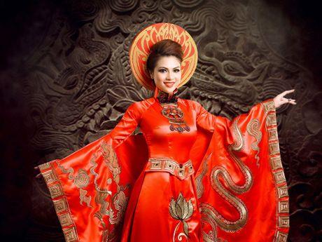 Pham Thien Trang dem hinh tuong Thai hau Duong Van Nga tranh tai tai 'Mrs. Globe' 2016 - Anh 1