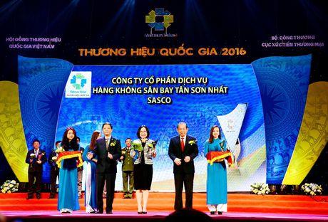 SASCO dat Thuong hieu Quoc gia 2016 - Anh 1