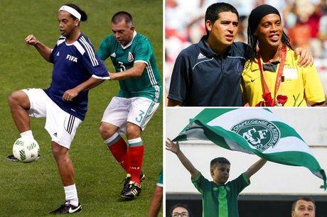 Ronaldinho muon xo giay thi dau cho Chapecoense - Anh 2