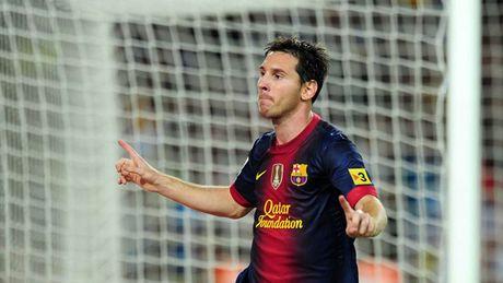 Diem lai nhung 'dau giay' cua Messi trong cac tran Sieu kinh dien - Anh 11