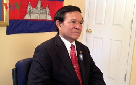 Pho Chu tich Dang Cuu Quoc doi lap Campuchia duoc Quoc vuong an xa - Anh 1