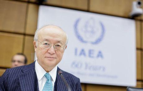 Tong giam doc IAEA xac nhan Iran cam ket thuc thi thoa thuan hat nhan - Anh 1