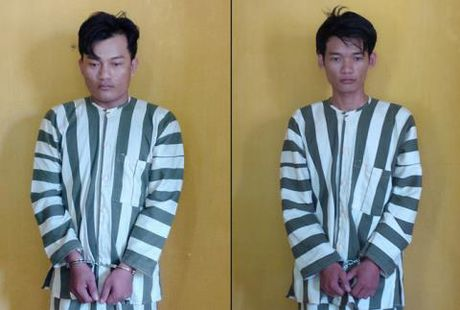 Cuop tiem vang o Tay Ninh: Bat 2 anh em ruot - Anh 1
