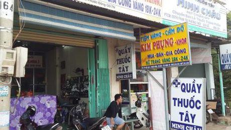 Cuop tiem vang o Tay Ninh: Bat 2 anh em ruot - Anh 2