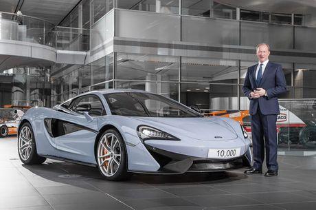 McLaren dat moc san xuat 10.000 sieu xe - Anh 1