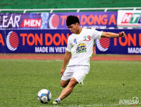 Van Toan, Cong Phuong - cap 'song sat' cua U21 HAGL - Anh 4