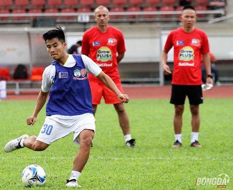 Van Toan, Cong Phuong - cap 'song sat' cua U21 HAGL - Anh 5