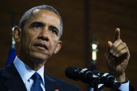 Tong thong My B.Obama chi trich Nga can thiep bau cu - Anh 1