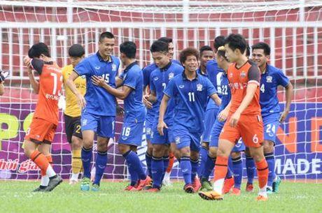 U.21 Thai Lan 6-2 U.21 Gangwon: Chung minh tham vong vo dich - Anh 2