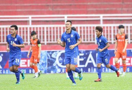 U.21 Thai Lan 6-2 U.21 Gangwon: Chung minh tham vong vo dich - Anh 4