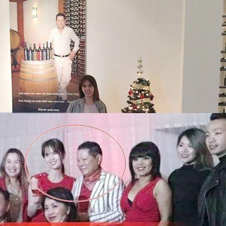 Dien do doi, Ngoc Trinh ra mat gia dinh ty phu Hoang Kieu tai My - Anh 2