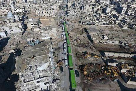 Tinh hinh di tan phien quan o Aleppo doi mat voi do vo - Anh 1