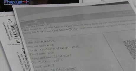 Ga Sai Gon khuyen cao nguoi dan can trong trong mua ve tau Tet - Anh 1