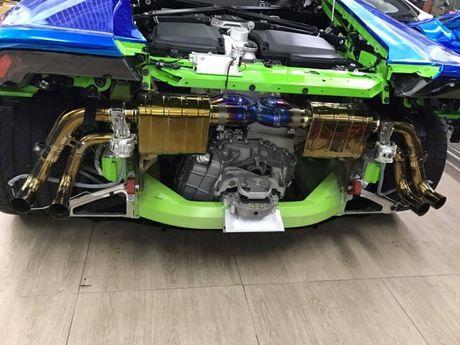 Lamborghini Huracan do ong xa doc nhat Viet Nam - Anh 1