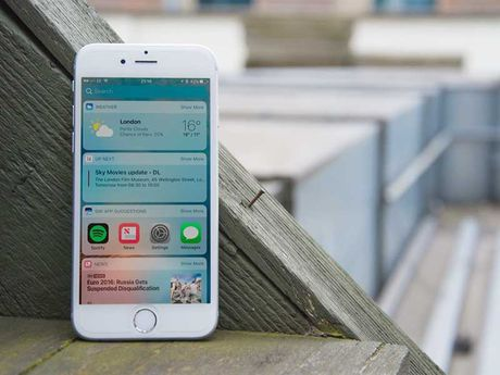 Apple bat ngo phat hanh iOS 10.2.1 Beta 1 - Anh 1