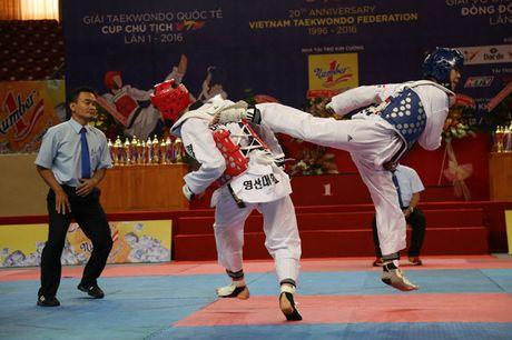 Taekwondo Viet Nam thang lon tai giai quoc te tren san nha - Anh 1