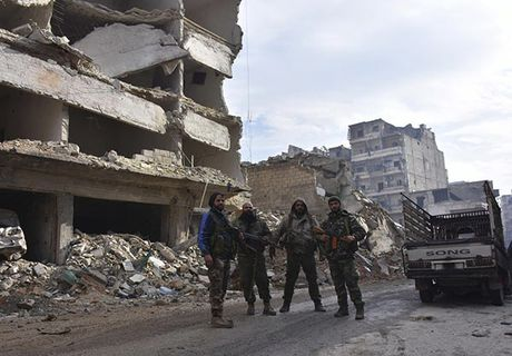 Canh tuong do nat o thanh pho Aleppo sau giai phong - Anh 10