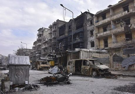 Canh tuong do nat o thanh pho Aleppo sau giai phong - Anh 2