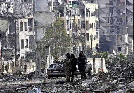 Canh tuong do nat o thanh pho Aleppo sau giai phong - Anh 3