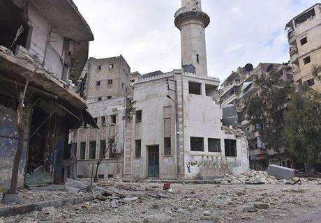 Canh tuong do nat o thanh pho Aleppo sau giai phong - Anh 7