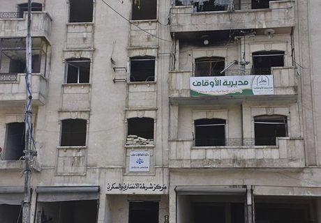 Canh tuong do nat o thanh pho Aleppo sau giai phong - Anh 8
