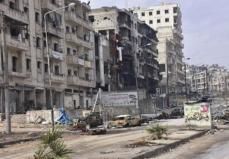 Canh tuong do nat o thanh pho Aleppo sau giai phong - Anh 9
