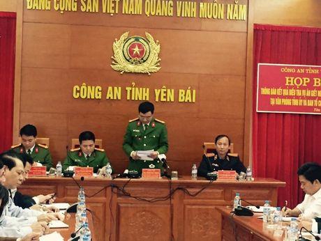 Hop bao cong bo ket qua dieu tra vu ban Bi thu, Chu tich HDND tinh Yen Bai - Anh 3