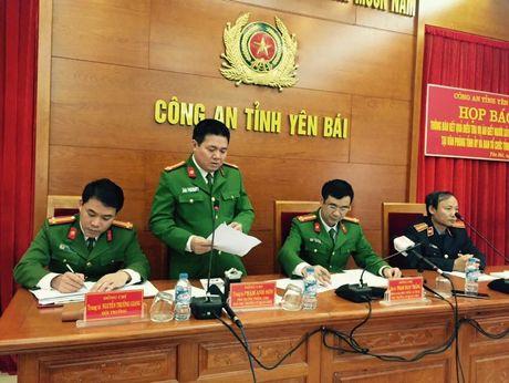 Hop bao cong bo ket qua dieu tra vu ban Bi thu, Chu tich HDND tinh Yen Bai - Anh 4