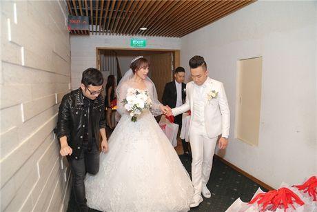 Can canh hai chiec vay cuoi Tran Thanh dat thiet ke rieng cho Hari Won - Anh 11