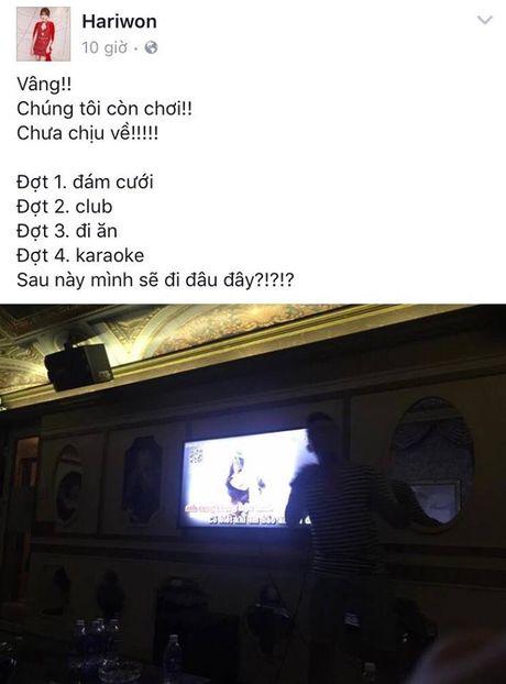 Tran Thanh, Hari Won noi gi sau dam cuoi nhu mo? - Anh 3