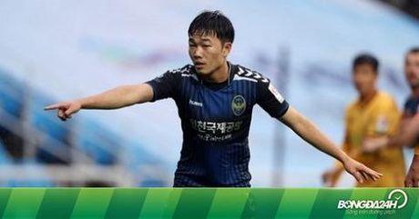 "Gangwon FC coi Xuan Truong la ""ngoi sao so 1 Viet Nam"" - Anh 1"