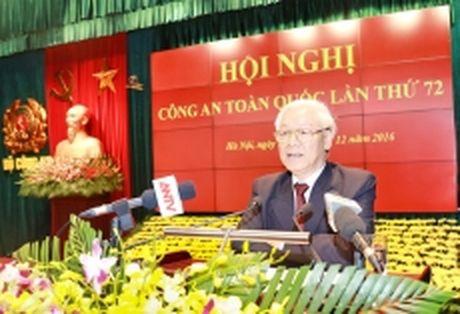 Khai mac Hoi nghi Cong an toan quoc lan thu 72 - Anh 1