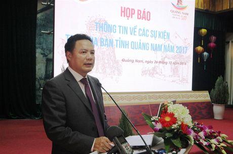 Quang Nam to chuc nhieu su kien trong nam 2017 - Anh 4