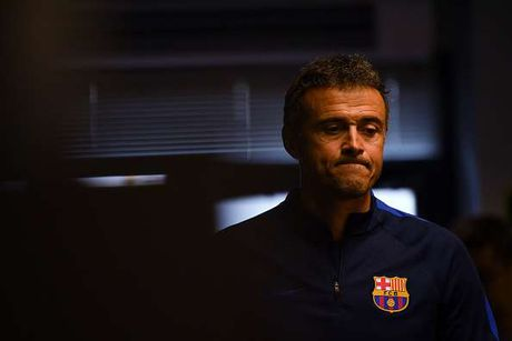 Luis Enrique co the chia tay Barca cuoi mua nay - Anh 1