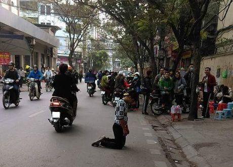 Nam thanh nien quy goi truoc cong Cao dang Y te Ha Noi - Anh 1