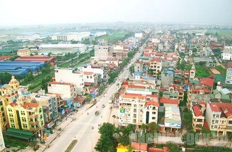 Cong nhan 2 don vi cap huyen cua tinh Bac Ninh dat chuan nong thon moi - Anh 1